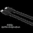 Кабель синхронизации Promate uniLink-CC Black, фото 2
