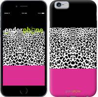 """Чехол на iPhone 6 Шкура леопарда v3 """"2723c-45-4848"""""""