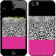 """Чехол на iPhone 5 Шкура леопарда v3 """"2723c-18-4848"""""""