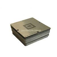 Набор трафаретов под специализированный столик  BGA 80х80 мм. (170 шт.) для ноутбуков/ПК/Xbox 360/PS3/PSP/Wii
