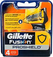 Кассеты для бритья Gillette Fusion ProShield сменные 4шт