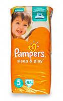 Подгузники Pampers Sleep & Play Junior 5 для детей 11-18 кг 58шт