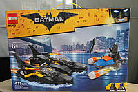 "Конструктор бэтмен аналог lego batman 81903 The Batman Movie ""Погоня на Бэткатере"""