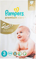 Подгузники Pampers Premium Care Midi 3 для детей 5-9 кг 120шт