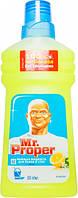 Моющая жидкость Mr. Proper Лимон для полов и стен 500 мл