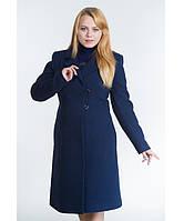 Пальто женское №22 р. 46-54 синий