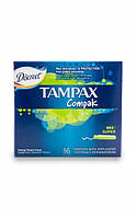 Тампоны Tampax Compak Super гигиенические с аппликатором 16шт