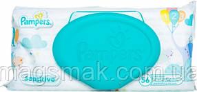Влажные салфетки Pampers Sensitive детские 56шт