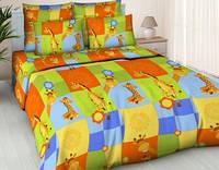 Комплект постельного детского белья бязь - 5122/1 Жирафики