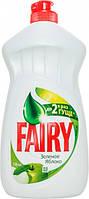 Средство для мытья посуды Fairy Зеленое Яблоко 500 мл