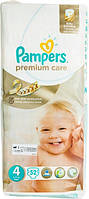 Подгузники Pampers Premium Care Maxi 4 для детей 8-14 кг 52шт