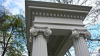 Колонны из сфб для фасадов
