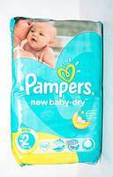 Подгузники Pampers New Baby-Dry Mini 2 для детей 3-6 кг 68шт
