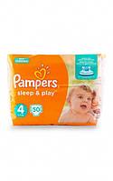 Подгузники Pampers Sleep & Play Maxi 4 для детей 7-14 кг 50шт
