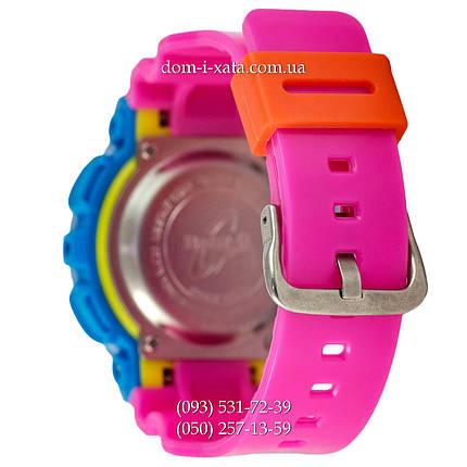 Электронные женские часы Casio Baby-G GA-110 Turquoise-Rose, спортивные часы Бейби Джи, реплика, отличное качество!, фото 2