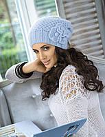 Теплая модная красивая шапка от Kamea - SWIETLANA