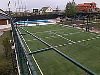 Монтаж штучної  просипної  монофіламентної трави 20 мм (волейбол)