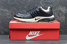 Кроссовки Nike Air presto темно синие с бежевым, 43р, фото 2