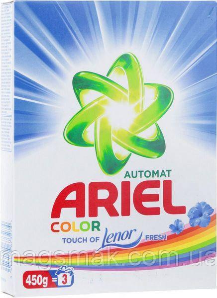 Порошок Ariel Color Touch of Lenor Fresh автомат 450 г