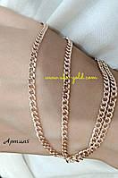 Золотая цепь панцирь