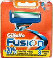 Кассеты для бритья Gillette Fusion сменные 8шт