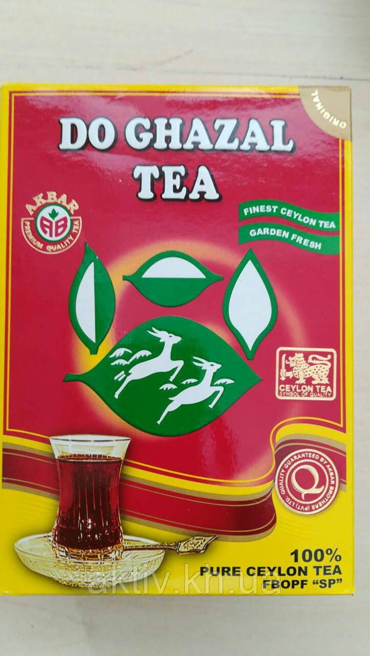 Чай чёрный Акбар Do Ghazal Tea 500 грамм