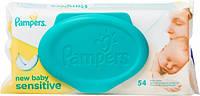 Влажные салфетки Pampers Sensitive детские 54шт