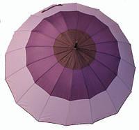 Зонт-трость полуавтомат женский  RB-264 16 спиц, фото 1
