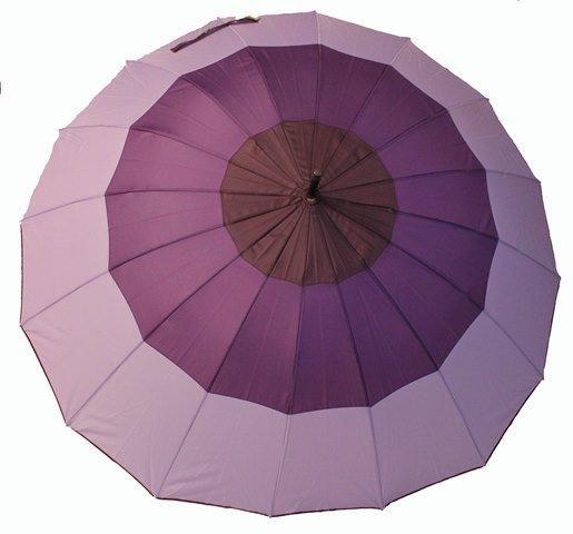 Зонт-трость полуавтомат женский  RB-264 16 спиц