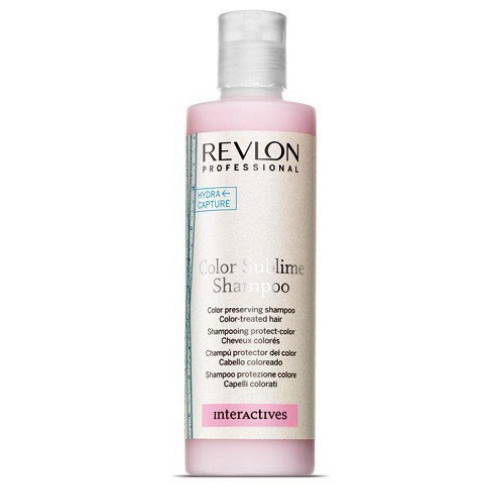 REVLON IHC Шампунь для увлажнения и защиты окрашенных волос COLOR SUBLIME-250мл
