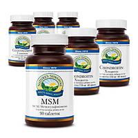 Набор «Здоровье Ваших суставов» - 6 фитопрепаратов NSP с программой применения.