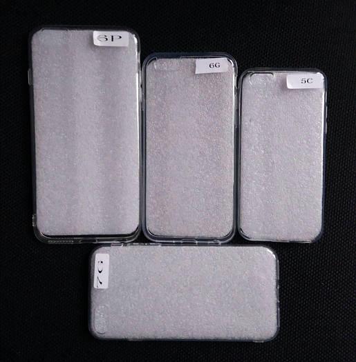 Силиконовый прозрачный чехол на iPhone 7 6 6+ 5с , оптом