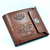 Мужской кошелек. Бумажник мужской. Стильный мужской кошелек., фото 2