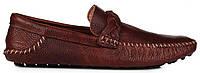 Мужские кожаные мокасины Timberland Moccasin Original Leather Brown (Тимберленд) коричневые