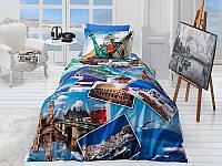 Полуторный комплект постельного белья First Choice 3D - 18 HOLIDAY