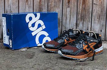 Мужские кроссовки Asics Gel Lyte 5 (Асикс Гель) черно-красные