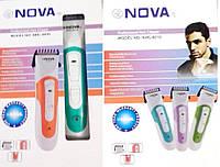 Профессиональная машинка для стрижки и бритья N0VA NHC 8010 Триммер для стрижки