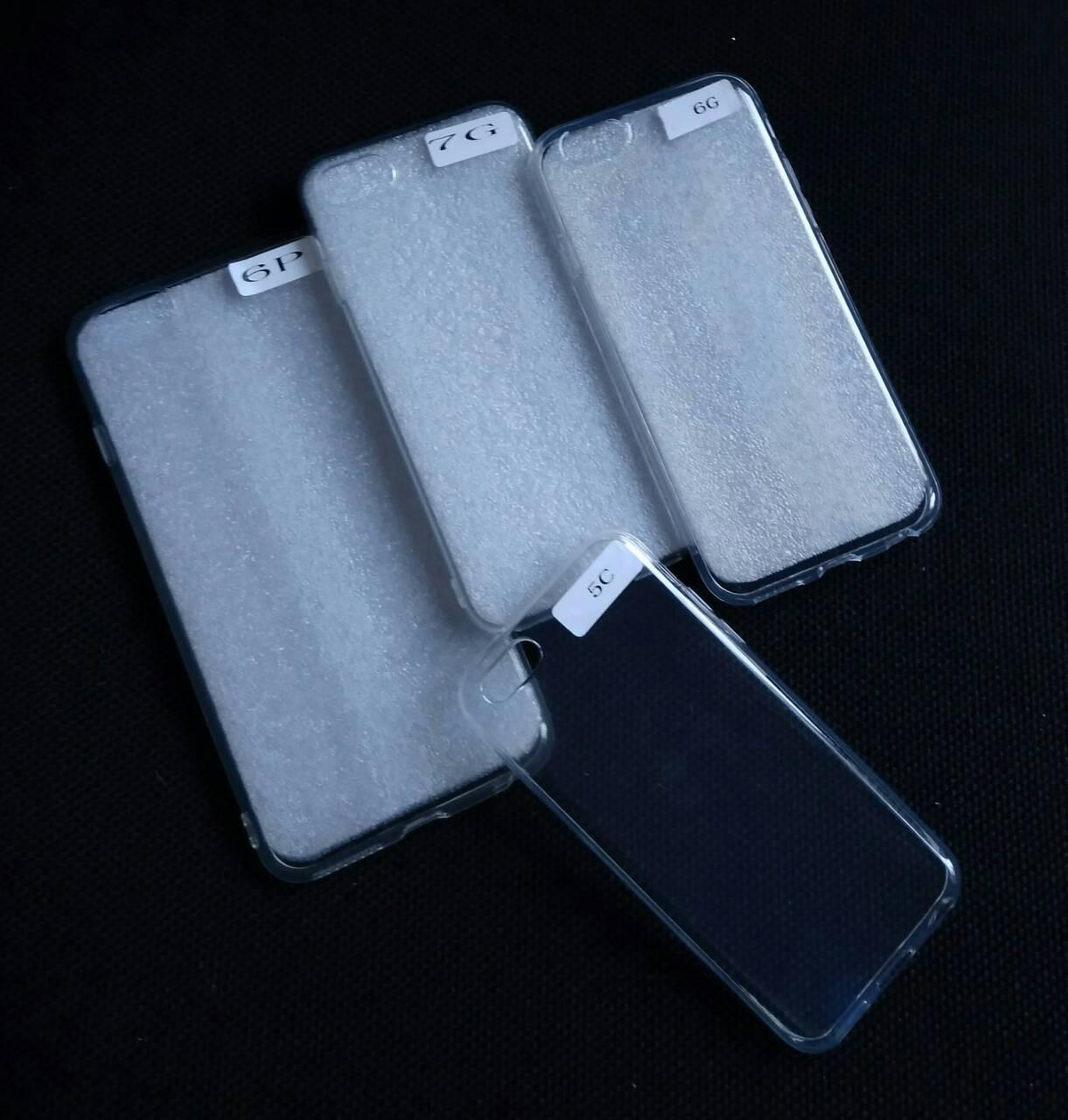 Силиконовый прозрачный чехол на iPhone 5c , оптом