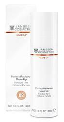Стойкий тональный крем с UV-защитой SPF-15 для всех типов кожи (02) JANSSEN Perfect Radiance Make-up