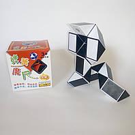 Змейка Рубика Shengshou черно-белая