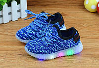 Детские светящиеся кроссовки с подсветкой LED