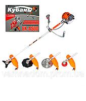 Бензокоса Кубань БК-4500 (3ножа+1леска)