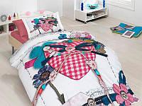 Полуторный комплект постельного белья First Choice 3D - 23 LOVABLE