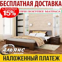 Деревянная кровать ТИТАН Эстелла, из натурального дерева, кровать из бука