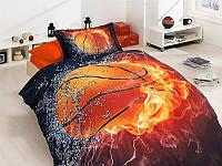 Полуторный комплект постельного белья First Choice 3D - 24 BASKETBALL