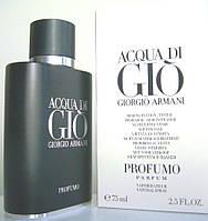 Giorgio Armani Acqua di Gio Profumo edp 75 ml spray tester (M) Оригинал