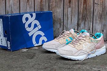 Мужские кроссовки Asics Gel Lyte 5 (Асикс Гель) золотистые