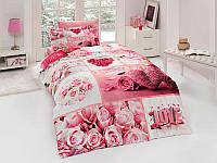 Полуторный комплект постельного белья First Choice 3D - 25 ALDEA