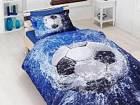 Полуторный комплект постельного белья First Choice 3D - 27 FOOTBALL