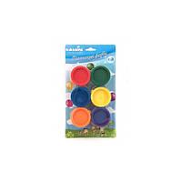 Пальчиковые краски 6 цветов по 30мл ТМ Идейка